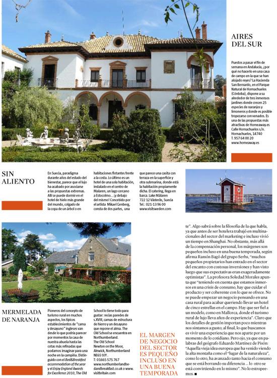 Commentaires Et Presse Hacienda San Bernardo
